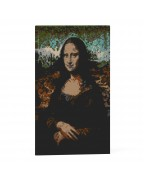 Mona Lisa Brick Painting 01S